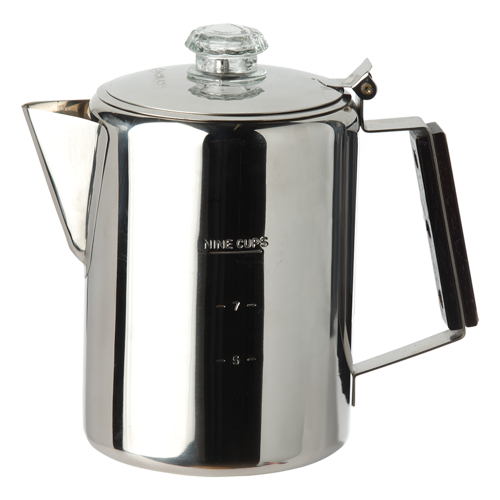 S.S. Coffee Pot 9 Cup