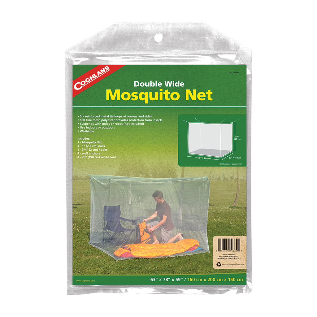 Mosquito Net-DOUBLE WHITE