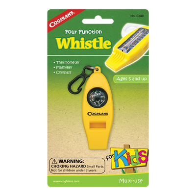 Kids Four Function Whistle