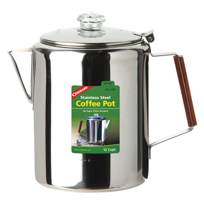 S.S. Coffee Pot 12 Cup