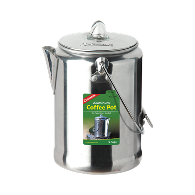 Aluminum Coffee Pot 9 Cup
