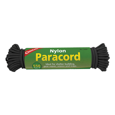 Paracord 50 ft - Black