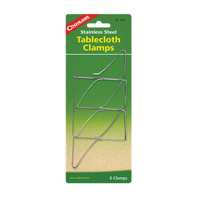 S.S. Tablecloth Clamps