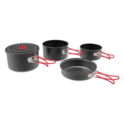 HA Aluminum Cook Set
