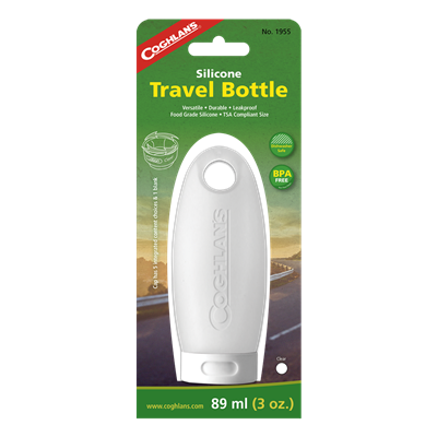 Travel Bottle - 89 mil - CLEAR