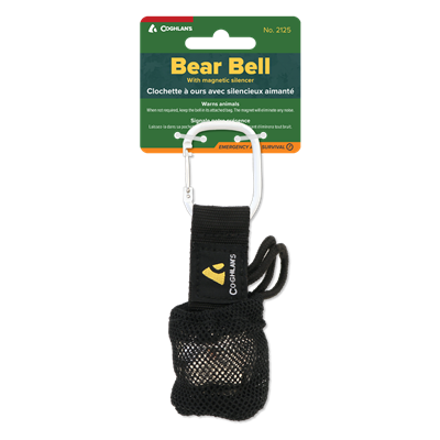 Bear Bell with Carabiner
