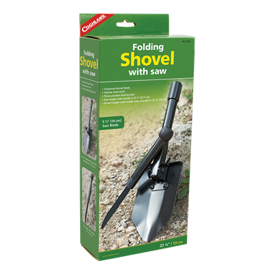 Folding Shovel w/Saw